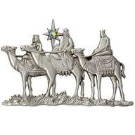 Three Wise Men Pewter Pin