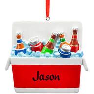 Personalized Cooler Ornament