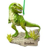 Personalized T-Rex Ornament