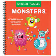 Children's Monsters Sticker Puzzles