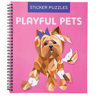 Children's Playful Pets Sticker Puzzles