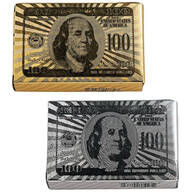 2-Pack Gold & Silver Playing Cards