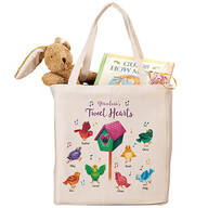 Personalized Tweet Hearts Tote