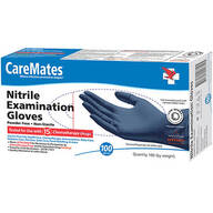 CareMates® Nitrile Exam Gloves, Set of 100