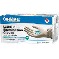 CareMates® Latex Gloves, Set of 100