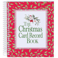 Christmas Card Record Book