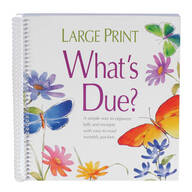 Whats Due Bill Organizer Book