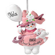 Personalized Sweet Granddaughter Ornament