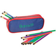Personalized Slim Pencil Case and Pencil Set
