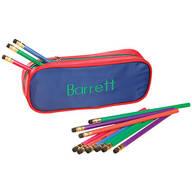 Personalized Slim Pencil Case and Pencil Set