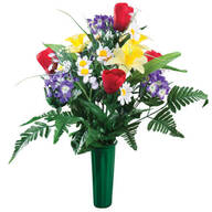 Spring Memorial Bouquet by OakRidge™
