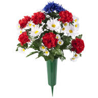 Patriotic Bouquet Memorial by OakRidge™ Outdoor
