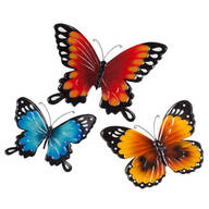 Metal Butterflies by Fox River™ Creations - Set of 3