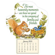 Mini Magnetic Calendar Heavenly Friends
