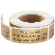 Personalized Large Print Address Labels - Set of 200