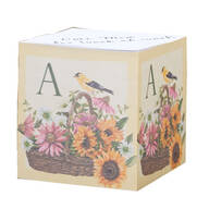 Personalized Finch Self-Stick Note Cube
