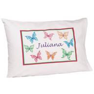 Personalized Butterflies Pillowcase