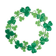 Metal Shamrock Wreath by Fox River Creations™