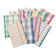 Plaid Kitchen Towels - Set of 10