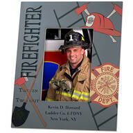 Personalized Firefighter Decorative Photo Frame