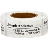 Personalized Off-Centered Address Labels, 200