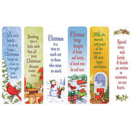 Secular Christmas Bookmarks, Set of 12