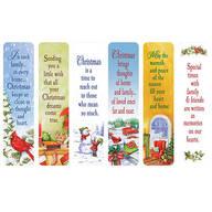 Secular Christmas Bookmarks, Set of 12