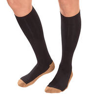 Copper Compression Socks by Silver Steps™, 1 Pair