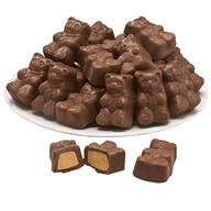Milk Chocolate Peanut Butter Bears 6.5 oz.
