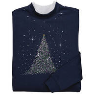 Sparkling Tree Sweatshirt By Sawyer Creek Studio™