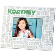 Complimentary Personalized Word Cloud Photo Frame for Women