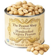 The Peanut Shop® Lightly Salted Handcooked Peanuts, 10.5 oz.