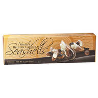 Belgian Chocolate Seashells, 2.3 oz. (6 Piece Box)