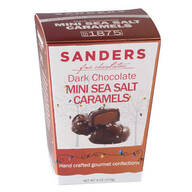 Dark Chocolate Mini Sea Salt Caramels
