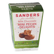 Sanders® Milk Chocolate Mini Pecan Delights, 6 oz.