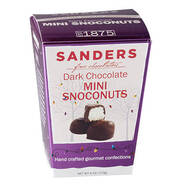Sanders® Dark Chocolate Mini Snoconuts, 6 oz.