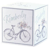 Personalized Bicycle Self Stick Note Cube