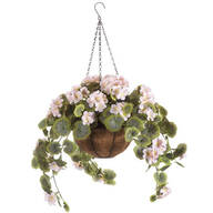 Fully Assembled Geranium Hanging Basket by OakRidge™