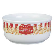 Personalized Popcorn Serving Bowl