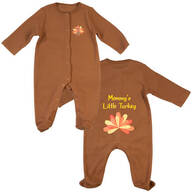 Personalized Baby Turkey Sleeper