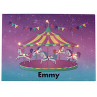 Personalized Lighted Carousel Canvas