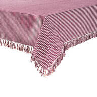 Homespun Woven Tablecloth