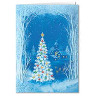 Personalized Gifts We Give Christmas Card Set of 20