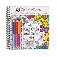 ColorArt® Inspirational Pictures Coloring Book