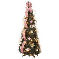 4' Victorian Style Pull-Up Tree by Holiday Peak™