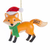 Woodland Fox Ornament