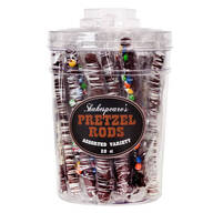 Assorted Chocolate Pretzel Rods