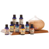 Healthful™ Naturals Deluxe Essential Oil Kit & 280 ml Diffuser