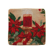 Christmas Candle Pillow Cover