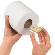 Christmas Carol Toilet Paper Roll Singer